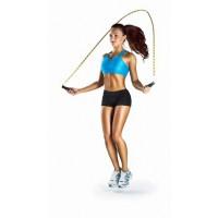 Прыжки со скакалкой помогут быстро похудеть.