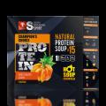 Натуральный протеиновый суп Тыква