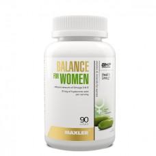 Витамины и минералы для женщин Maxler Balance for Women.