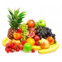 Фрукты и ягоды с высоким содержанием клетчатки.