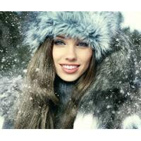 Зима, мороз.