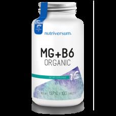 Таблетки магний + витамин B6.