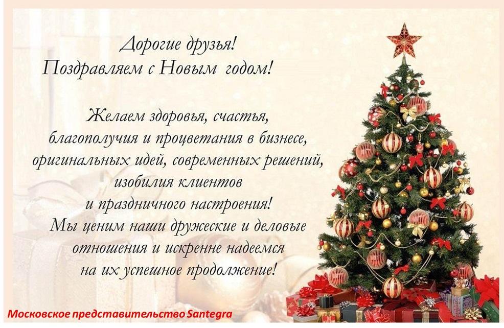 Сантегра Новый год.